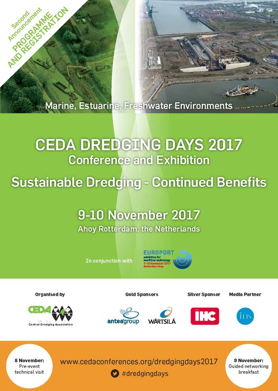Events - Dredging Days 2017 - 2nd announcement -cover // cedadredgingdays-2ndannouncement-web_1.jpg (123 K)