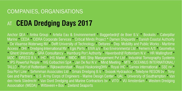 Events - Dredging Days 2017 - Companies-web